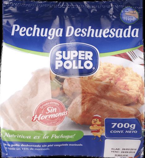 Super Pollo Pechuga Pollo Deshuesada