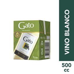 Vino Gato Caja Blanco 500cc 11.5º Gl