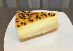 Pastel de Cheesecake de Maracuyá