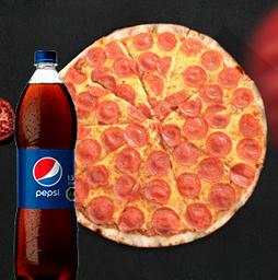 Combo A Pizza Familiar Tradicional
