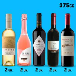 Pack Mixto - vinos 375cc