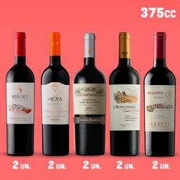Pack Tintos - vinos 375cc