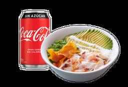 Chirashi Nikkei + Bebida Lata