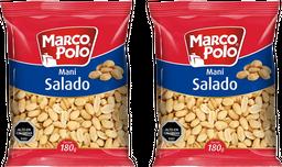 Promo: 2x Mani Salado Marco Polo 180g
