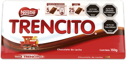 2 x Chocolate Trencito 150g