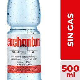 Agua Mineral Cachantun Sin Gas 500cc