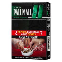 Cigarro Pallmall Menta 20 Boost 20Un