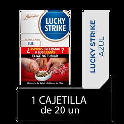 Lucky Strike Blue Cigarrillos Cajetilla 20Un