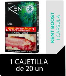 Kent iBoost Cigarrillos Cajetilla 20Un
