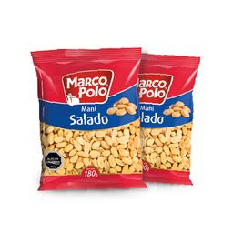 2x Marco Polo Mani Salado 180g