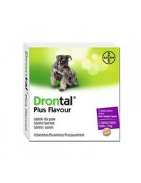 Drontal Plus (C) 2 Comp C/U Hasta 10Kg