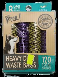 Dogs Rock (C) 120 Bolsas (8X15) (Morado-Amarillo)
