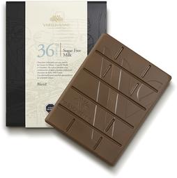 Barra Milk Sin Azúcar 36% Cacao 80g