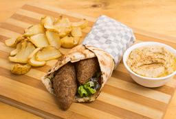 Shawarma de Kibbe Frito