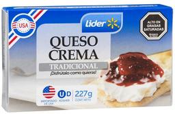 Queso Crema Caja Lider 227g