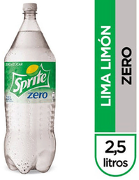 Bebida Zero Sabor Limón Botella Sprite 2.5L