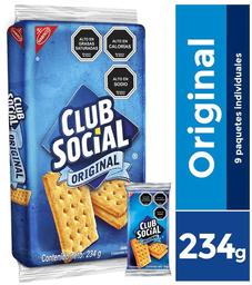Galleta Club Social Bolsa Nabisco 232g