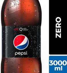 Bebida Zero Sabor Cola Botella Pepsi 3L