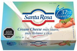 Queso Crema Light Caja Santa Rosa 227g