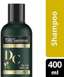 2 x Shampoo Detox Capilar Botella Tresemmé 400ml