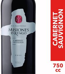 Vino Cabernet Sauvignon Misiones de Rengo 750cc