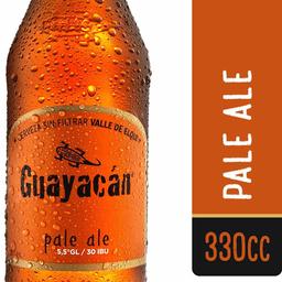 Cerveza Pale Ale Botella Guayacán 350cc