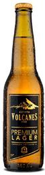 Cerveza Premium Lager B Volcanes del Sur Lata 350cc