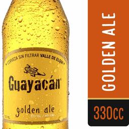 Cerveza Golden Ale Botella Guayacán 350cc