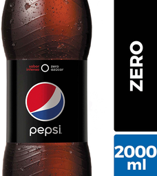 Bebida Zero Sabor Cola Botella Pepsi 2l