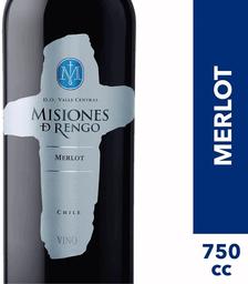 Vino Merlot Misiones de Rengo 750cc