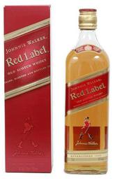 Whisky Etiqueta Roja Botella Johnnie Walker 750cc