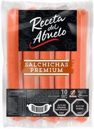 Salchichas Premium (10 Un) Bolsa Receta Del Abuelo 500g