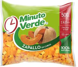 Zapallo en Cubos Minuto Verde 500g