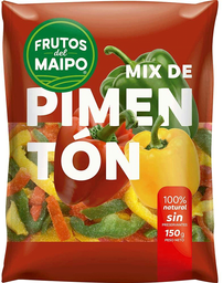 Mix de Pimentones Congelados Bolsa Frutos del Maipo 150g