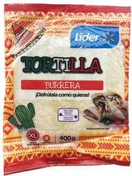 Tortilla Burrera XL Lider 8un