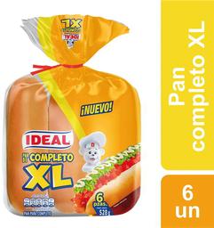 Pan de Completo XL Ideal 528g