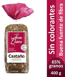 Pan de Molde Integral Avena Quinua Bolsa Castaño 400g