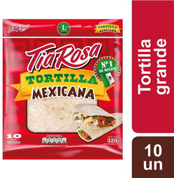 Tortilla Mexicana 18 cm Tia Rosa 10un