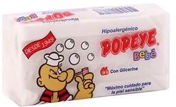 3 x Detergente en Crema Lavado Ropa de Bebé Bolsa Popeye 170g