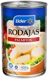 Palmitos en Rodajas Tarro Lider 400g