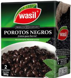 Porotos Negros Listos Para Servir Caja Wasil 380g