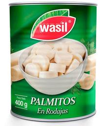 Palmitos en Rodajas Tarro Wasil 400g