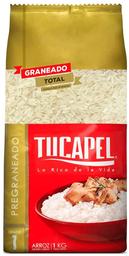 Arroz Pre graneado Grano Largo Bolsa Tucapel 1Kg