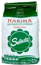 Harina sin Polvos de Hornear Bolsa Selecta 3Kg