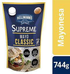 Mayonesa Supreme Classic Doypack Hellmann's 744g