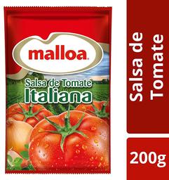 3 x Salsa de Tomate Italiana Malloa 200gd7273