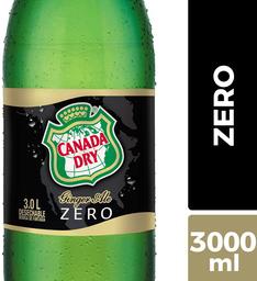 Bebida Zero Sabor Ginger Ale Canada Dry 3L