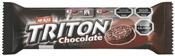 Galletas Tritón Chocolate Bolsa McKay 120g
