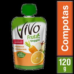 2 x Compota Naranja Zanahoria Vivo 120g
