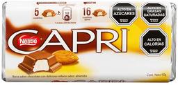 Chocolate Capri Almendra Barra Nestlé 90g